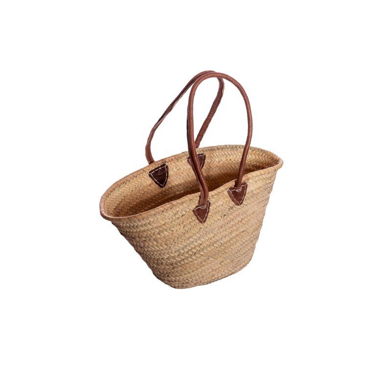 borsa di paglia con manici in spallal