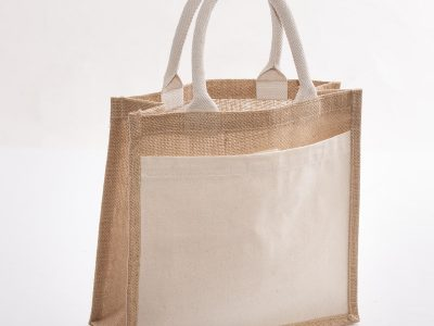 shopper in juta naturale
