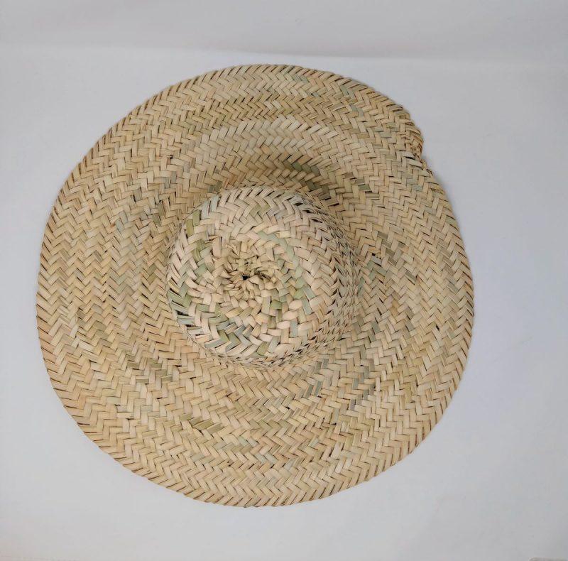 cappello di paglia lavorato a mano
