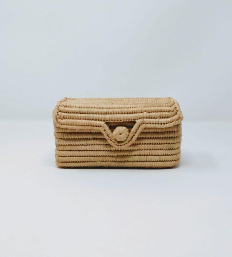 micro bag in rafia