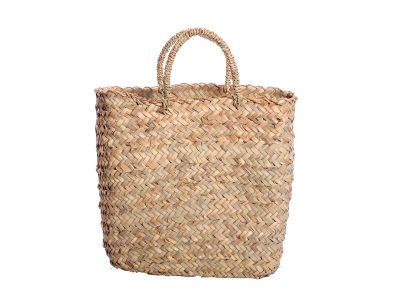 borsa di paglia di palma nana